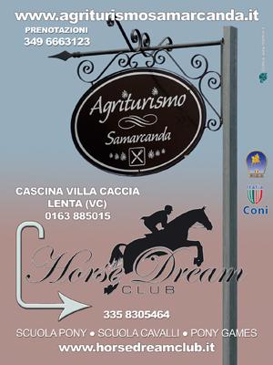 Cartelloni pubblicitari: Agriturismo Samarcanda - Lenta (VC)