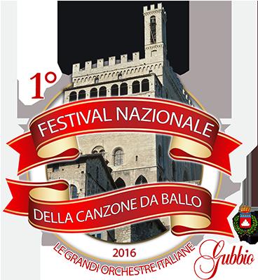 Logotipo Festival Nazionale Canzone Da Ballo