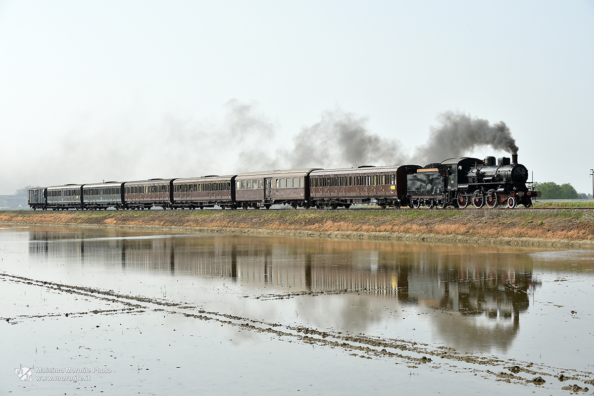 Treno storico della Valsesia